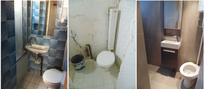 L\'appartement de Marc avant et après travaux | Biens Trouvés ...