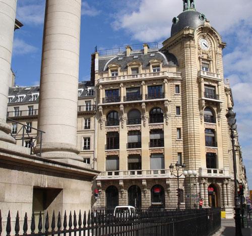 République du Croissant, ancien quartier de la presse à Paris